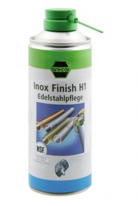 Spray do stali nierdzewnej Inox Finish H1 400ml